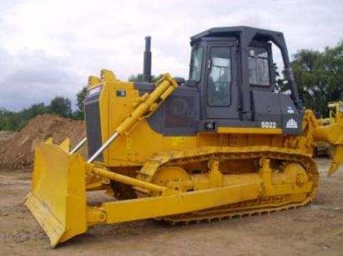 Remato tractor de oruga shantui sd22