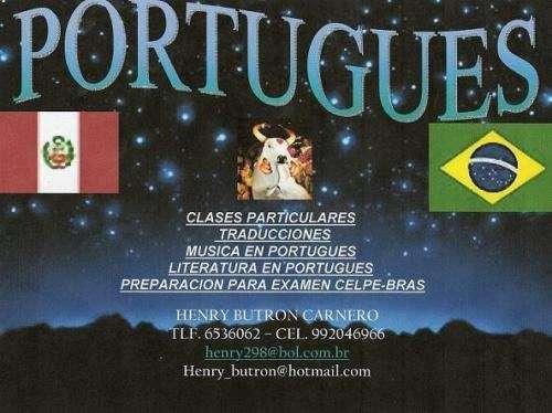 Clases de portugues traducciones