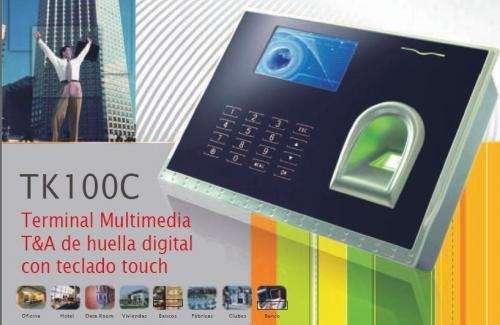 Control de asistencia - lector biometrico de huella digital tk100c