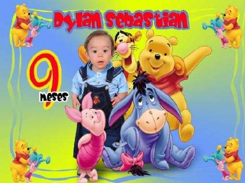 Tarjetas De Invitacion Con Fotomontaje Cumpleaños Baby