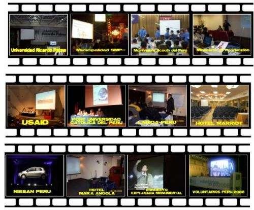 Alquiler de proyectores multimedia + ecrans + retroproyector de filminas + sonido + pantallas gigantes