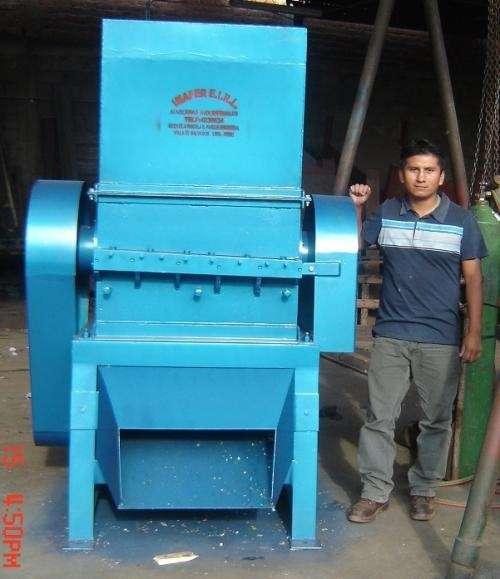 Molino picadora de plastico / lavadora / secadora - ves - lima - peru