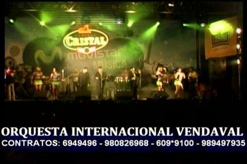 Orquestas en vivo y digitales la mejor hora loca eventos peru