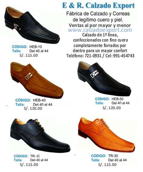 Moda en calzado de puro cuero y piel, a precios increibles