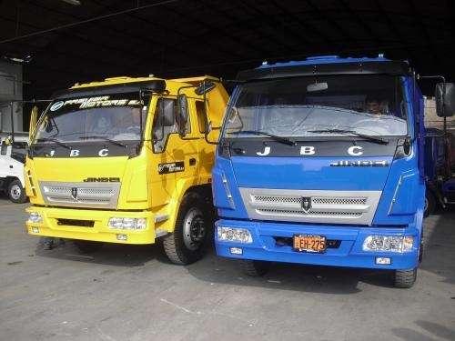 Camiones y volquetes chinos *jinbei* importacion directa