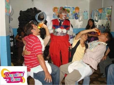 Show de payasos para baby shower - full concursos y juegos muy divertidos 994026751