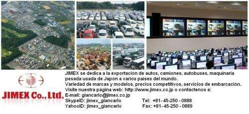 Exportación de vehiculos usados