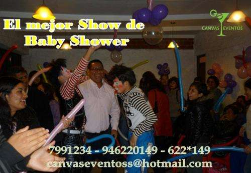 Payasos para tu baby shower