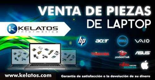 Venta de piezas para laptop acer, apple, asus, dell, fujitsu siemens, hp-compaq, lg, packard bell, samsung, sony vaio, toshiba.