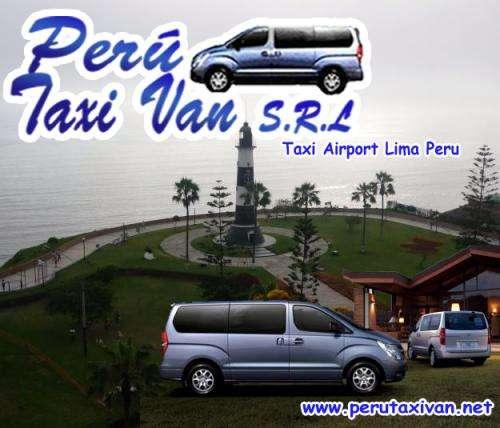Peru taxi van lima miraflores aeropuerto