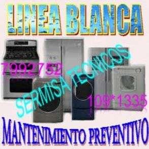 «servicio técnico linea blanca»reparación - mantenimiento preventivo de electrodomésticos«799 2752»