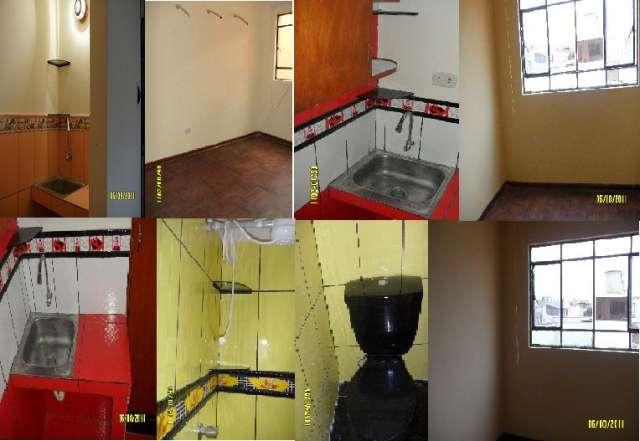 Alquilo habitación amoblada y sin amoblar c/baño
