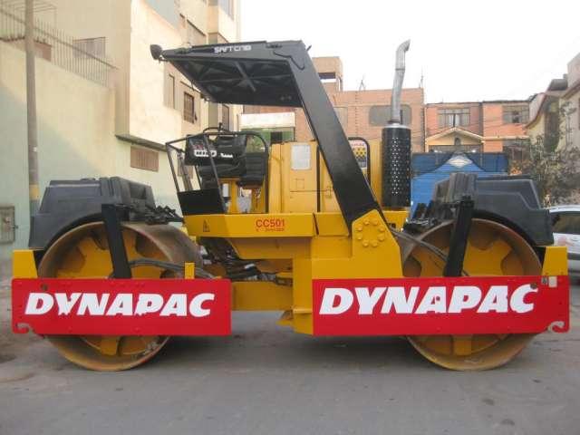 Rodillo dynapac cc501 vendo o alquilo