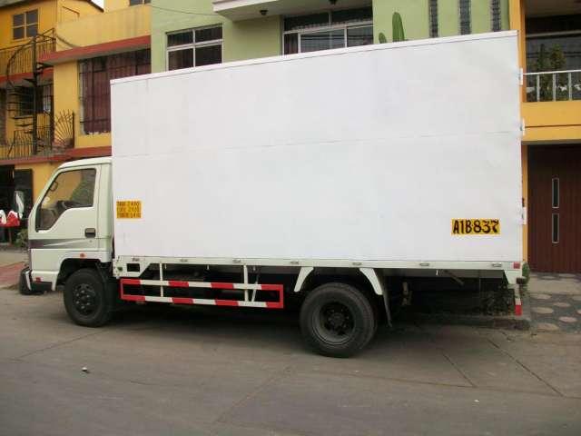 Vendo camion furgon año 2009- 3 toneladas