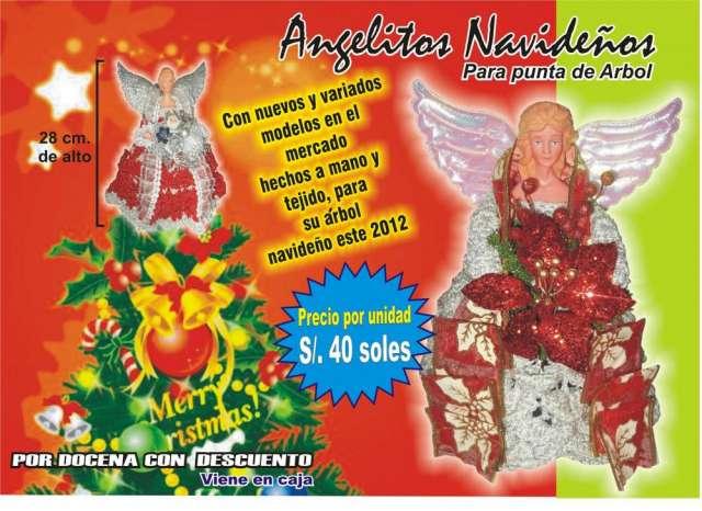 Articulos navideños, navidad, angelitos