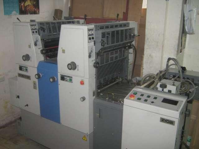 Maquinas imprenta.offset ryobi-roland