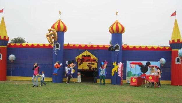 Show parque de diversiones para empresas