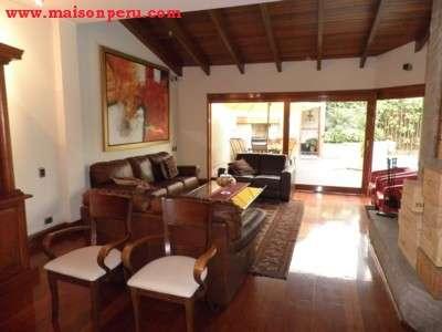 Alquilo casa, terraza c/piscina chacarilla (ref: 547)