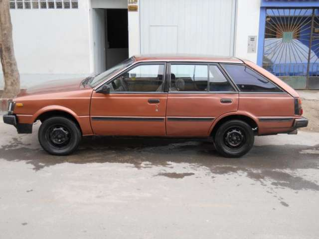 Remato nissan station wagon 1986,timon original