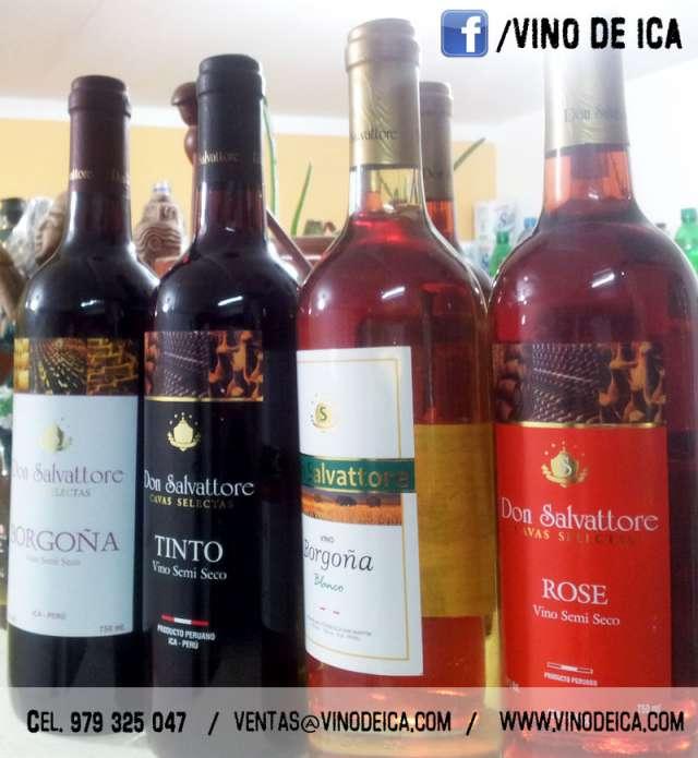 Vinos de ica don salvattore en lima ,licores