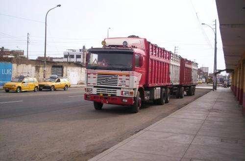 Vendo mi camion volvo f12 con carreta año 1985