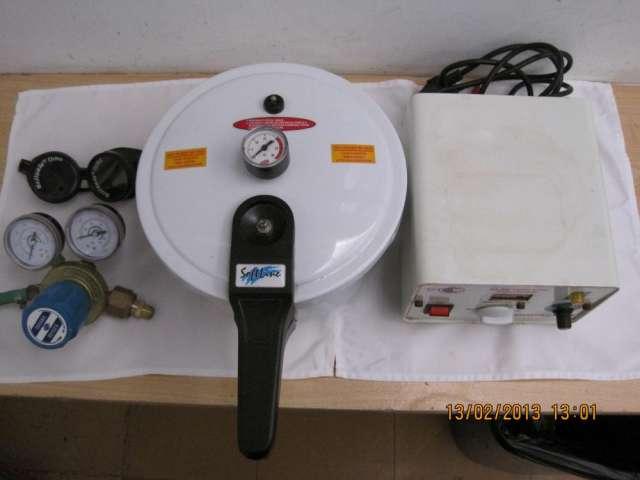 Remato baño electrolitico ,olla a presion y equipo para colado