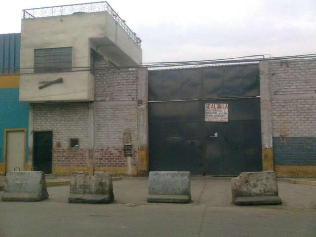 Alquiler local comercial y/o ind. 2000m2
