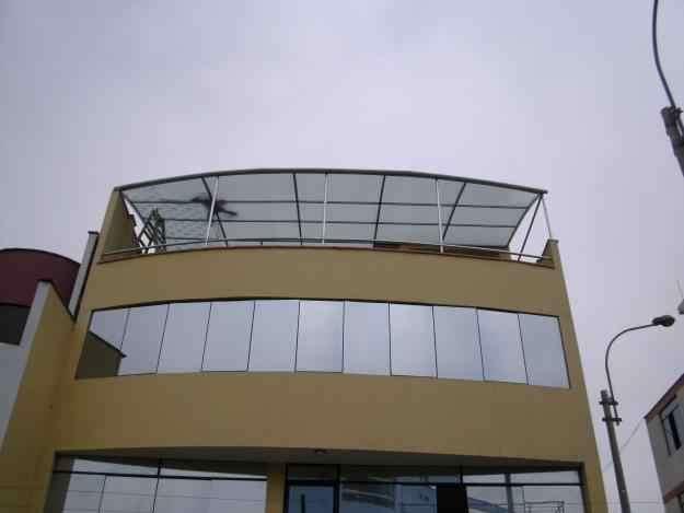 Policarbonato vidrios drywall - instalaciones