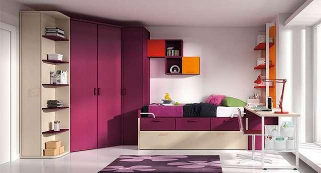 Dormitorios juveniles para niños y jovenes