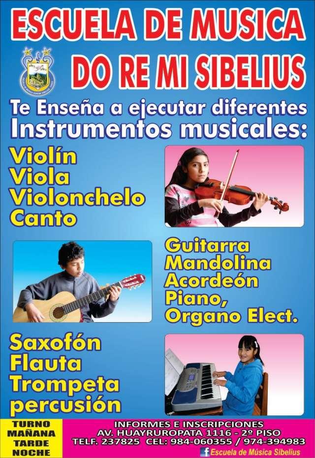 """Academia de musica en cusco """"doremi sibelius"""" cusco - peru"""