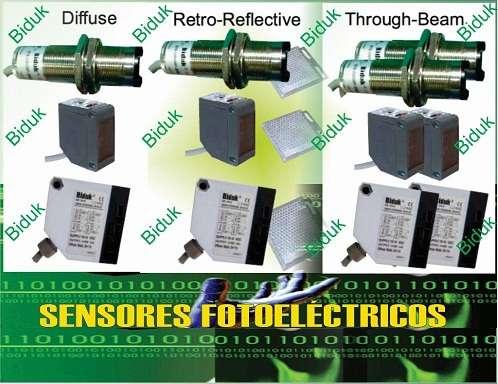 Sensores inductivos, capacitivos, fotoeléctricos de alta frecuencia