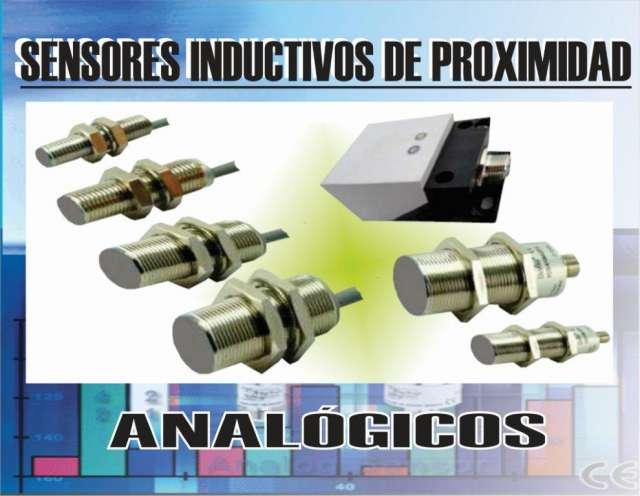 Sensores inductivos, capacitivos, fotoeléctricos, tacas, etc