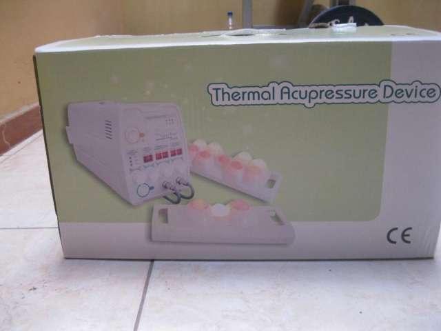 Termomasajeador manual tipo ceragem