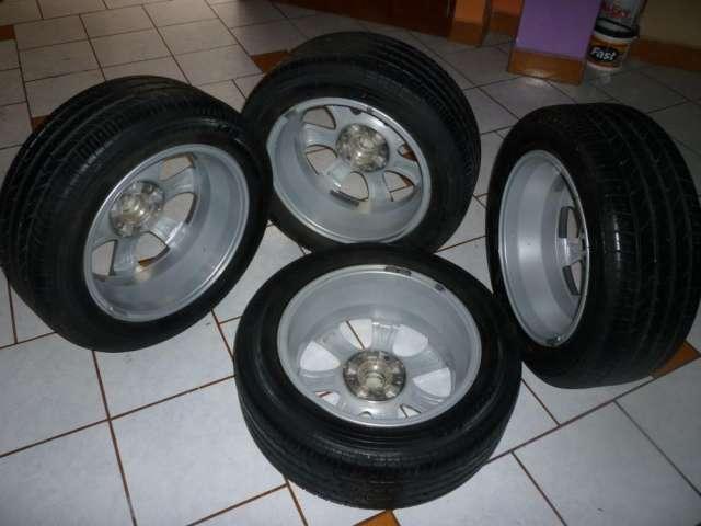 Vendo 4 aros aluminio orig.mazda 3 y llantas toyo 205/55 r16 91v