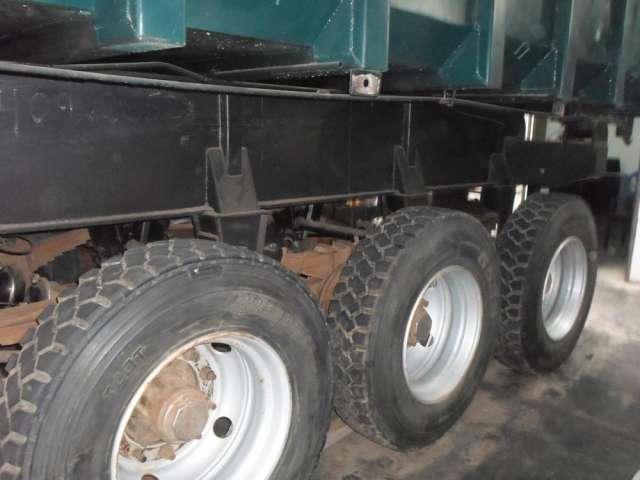 Tolva para volquete / camión de 28m3 enllantada precio $11,500 usd