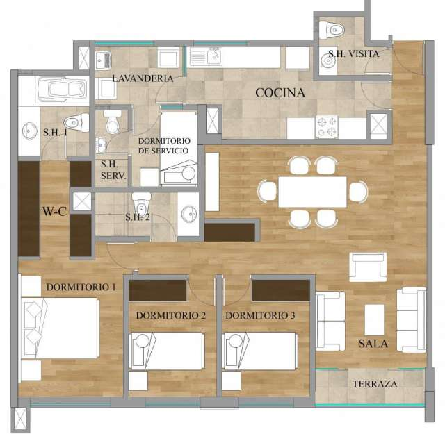 Edificio montecasino, proyecto en planos (precios de pre venta)