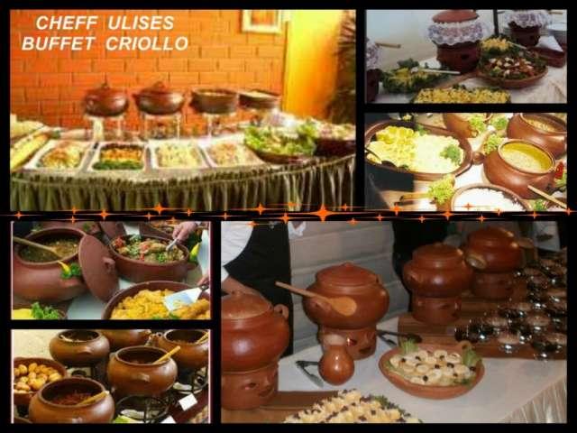 Cheffulises, servicio de catering, buffet criollo, marino, parrilladas, polladas, anticuchadas