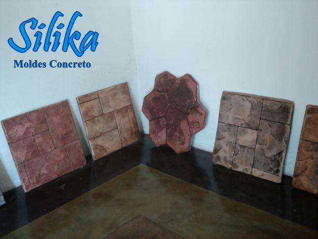 Venta de moldes para estampado de concreto