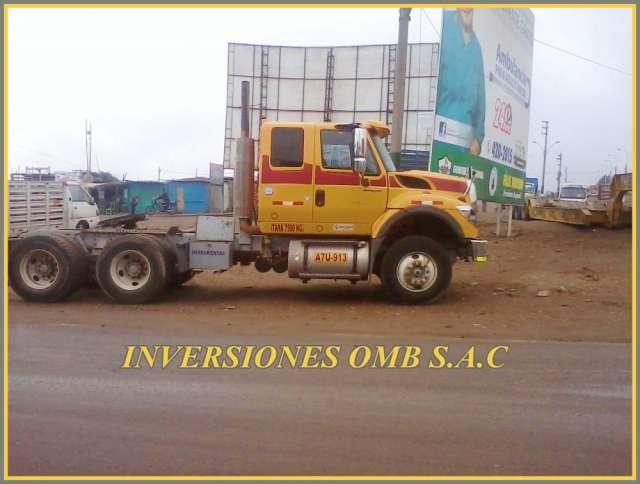 Vendo tracto remolcador international 7600