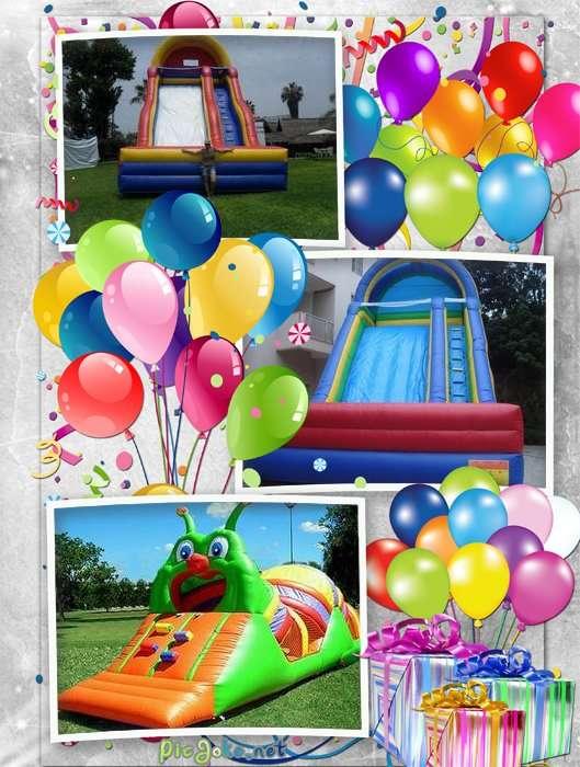 Juegos inflables alquiler de fiestas eventos ssaltarines