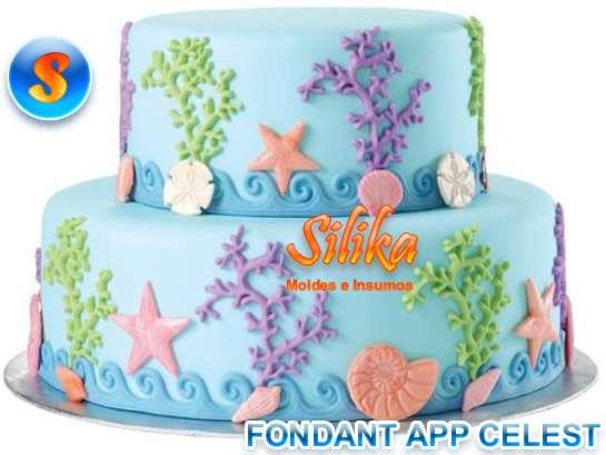 Moldes silicona para decoracion tortas y fontant