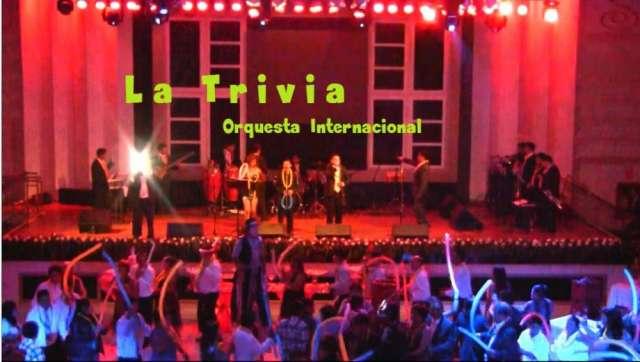 Orquesta de lima la trivia para fiestas orquesta la trivia