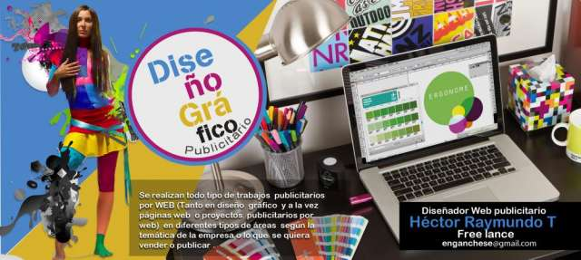 Diseñador grafico y web (publicidad)