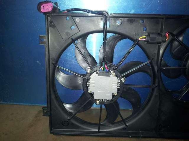 Electro ventilador radiador volkswagen audi seat skoda