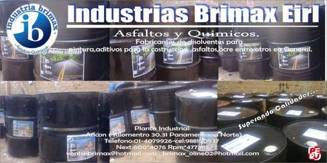 Venta de asfalto liquido mc-30, brilla en tus obras con la calidad de brimax