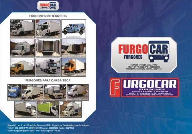 Furgones en lima -furgones isotermicos-furgones hino