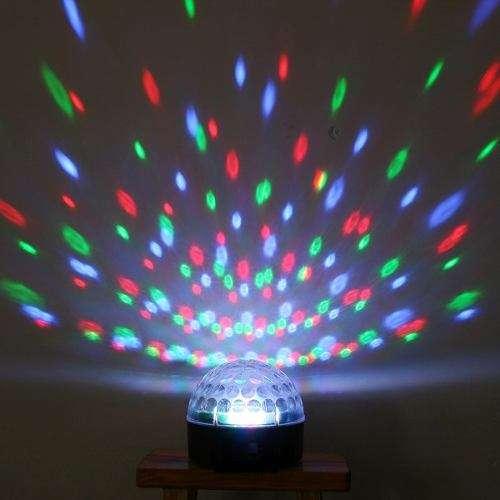 Luces inteligentes, bola laser, maquina de humo