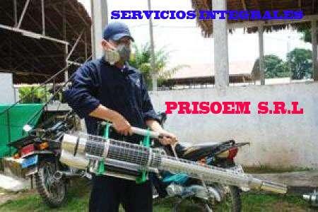 Servicios de fumigacion en general, venta de extintores