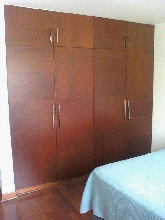 Muebles para cocina y dormitorio diseño 3d