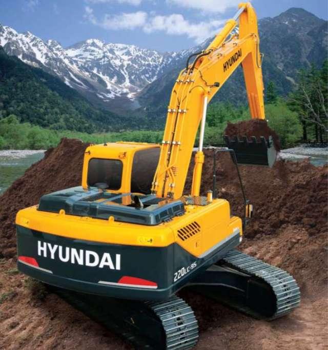 Maquinaria pesada nueva hyundai - peru